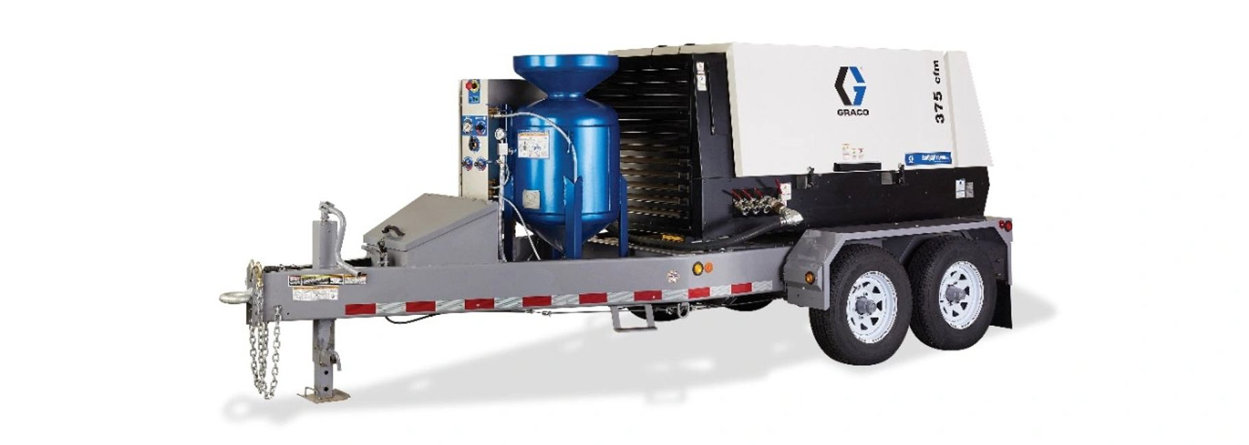 Sandblast equipment and parts from industry leading brands like Clemco, Schmidt, and Graco.