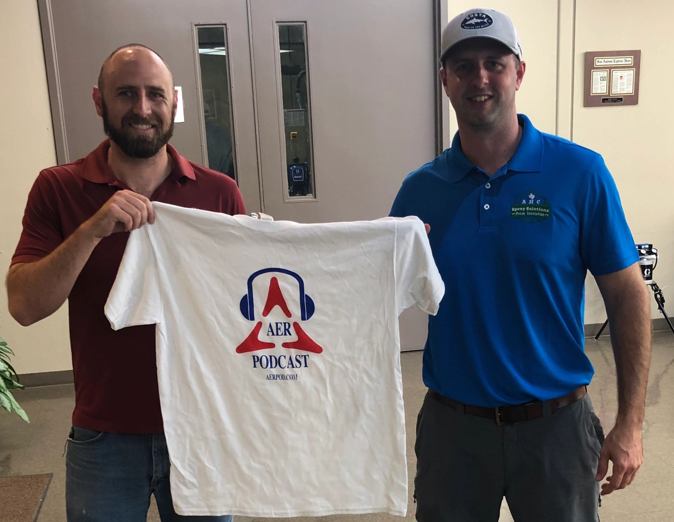 Jason Weber of Air Equipment sits down with Spray Foam Contractor AHC Spray Solutions on the AER Pod