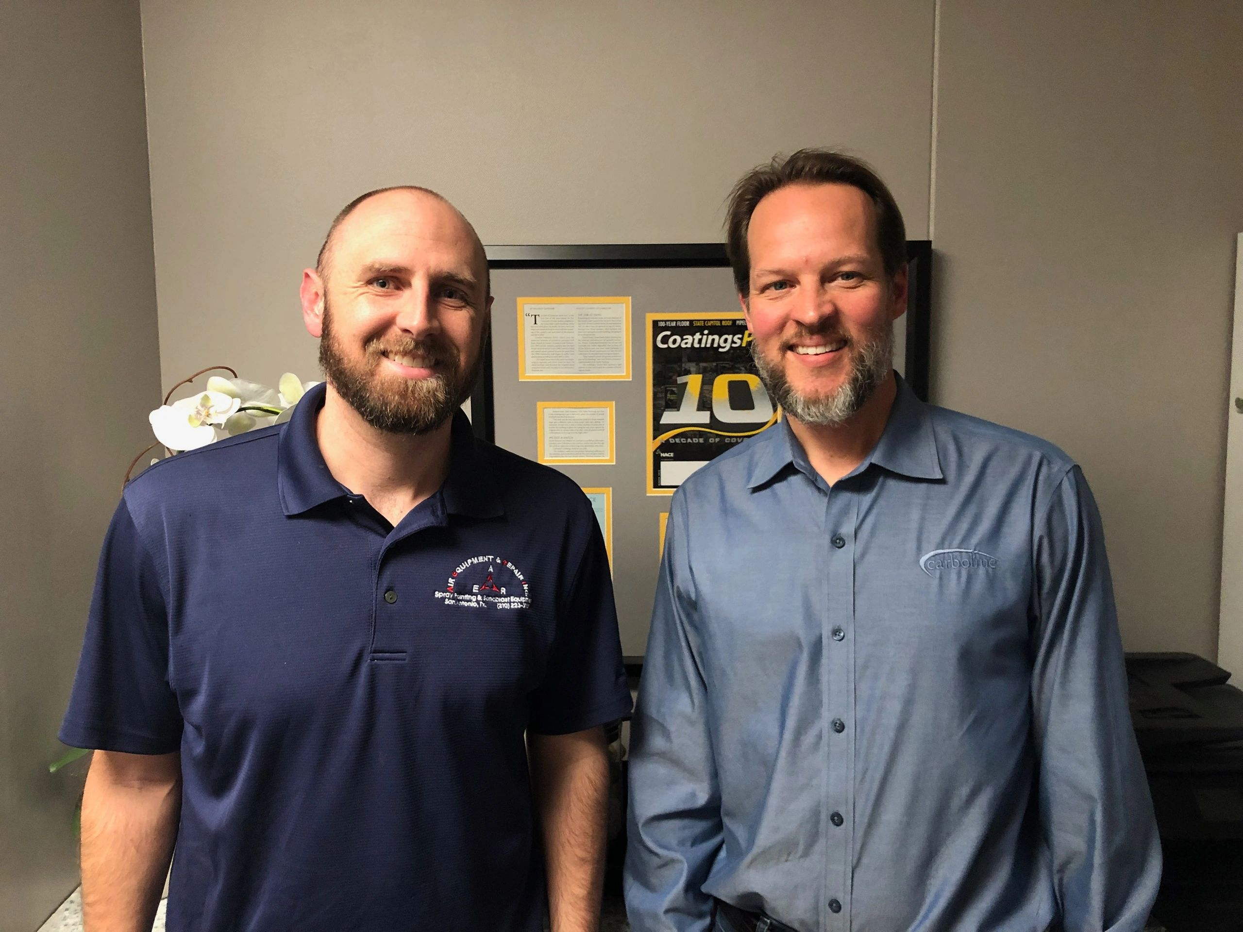 Jason Weber sits of Air Equipment and Repair sits down with Frank Peterson of SCP on the AER Podcast