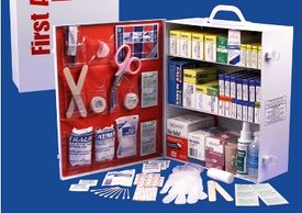 We sale and service First Aid Kits for Businesses and Organizations