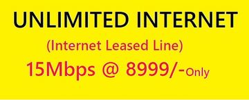 Unlimited Data Plan 10Mbps IIL