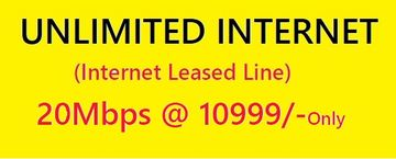 Unlimited Data Plan 20Mbps IIL