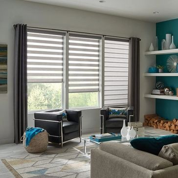 Custom blinds and Window Treatment showroom