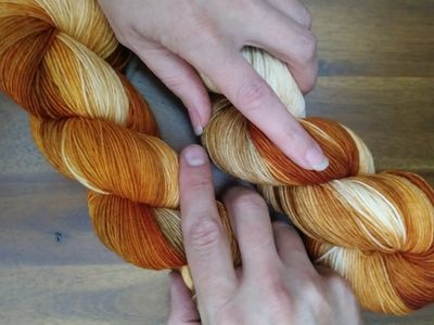 Custom dyed yarn orders put you in control of quantity, fiber content, and color.