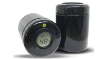 Miron Jars with Map-Tech Lids and Hygrometer