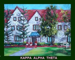SORORITIES,Norman Oklahoma, paintings,prints, large and small art at www.theheardgallery.com