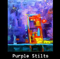 Purple, red, orange,yellow abstract, prices all art, canvas, giclee prints, www.theheardgallery.com