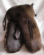 River otter mittens