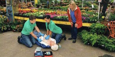 CPR, AED and First Aid Classes