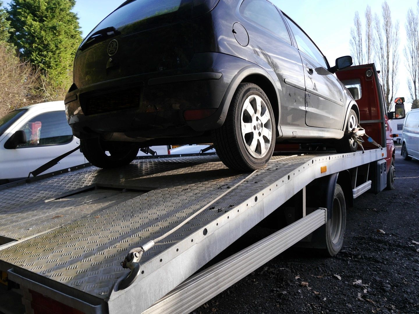 Car bought loaded on Recovery
