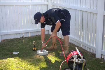 Blocked drain cleared by Plumber at a residential property Broadbeach waters