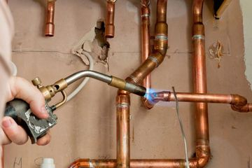 Gasfitting work including gas hot water systems completed by Plumber