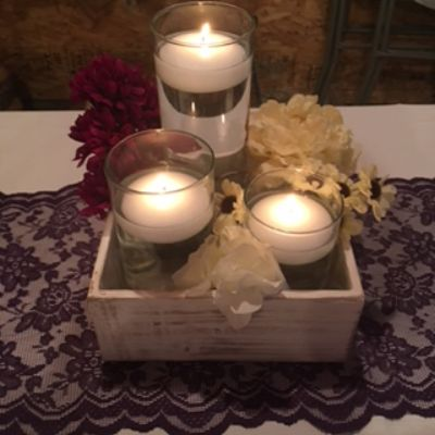wedding centerpiece, rustic centerpiece, wedding table Cincinnati, wedding Sunman, Lawrenceburg wed
