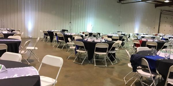 corporate event decor, corporate event rentals, fundraiser decor, non-profit decor Indiana
