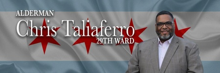 29th Ward Alderman Chris Taliaferro