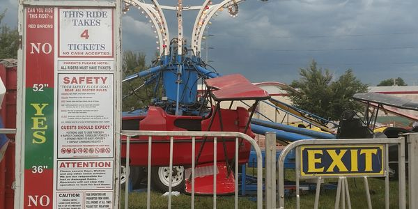 Amusement Ride height requirements safety rules regulations carnival ride list