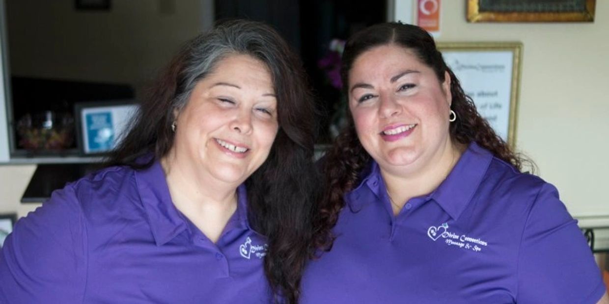 Mercy Terrill and Maggie Malast, owners of Divine Connections Massage