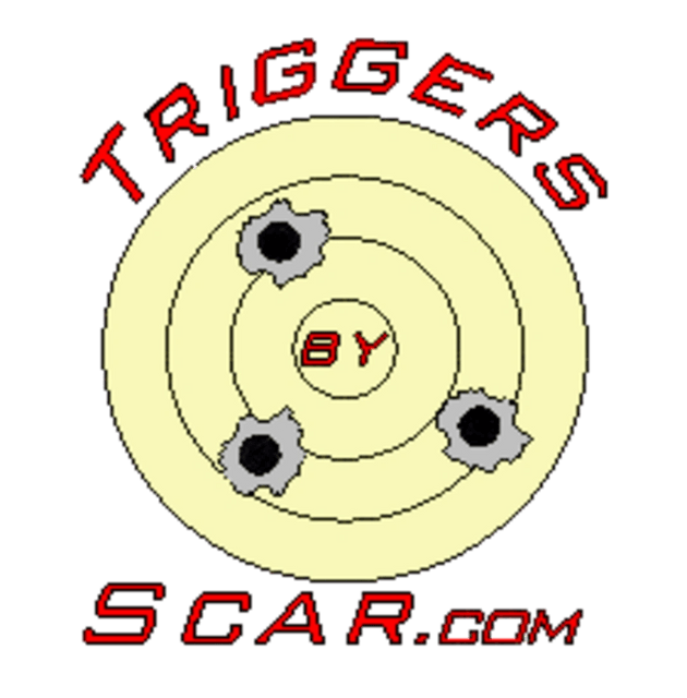 BScar CZ 457 Scope Mounting Rails - CZ 455 Two Stage Triggers