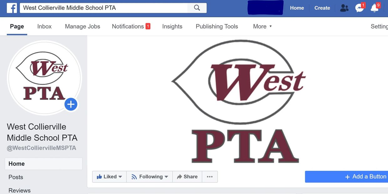 West Collierville Middle School Facebook page follow WCMS WestCMS COLLIERVILLE COLLIERVILLE SCHOOLS