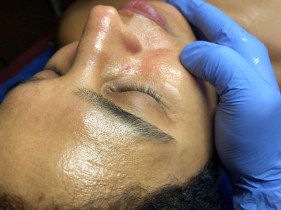 Custom facial treatments at Unlimited Potential - a skincare studio in Guilford, CT