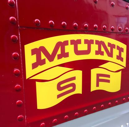 SFMTA Livery Logo from the 1960's.