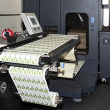 Digital Label Printing Press