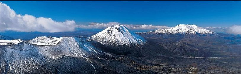 Tongariro National Park was established in 1887, one of the first national parks in the world.  The