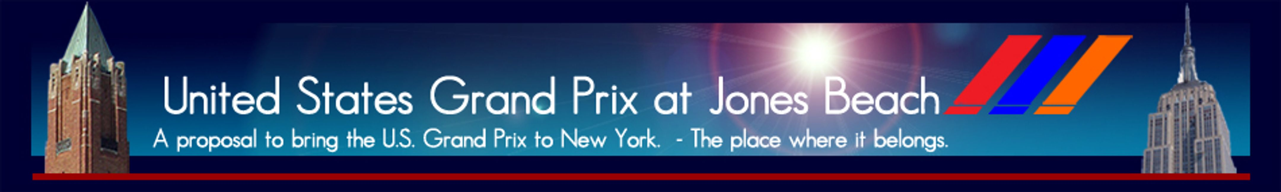 US Grand Prix at Jones beach Proposal to bring F1 to NY Formula 1 New York USGP New York USGP NY