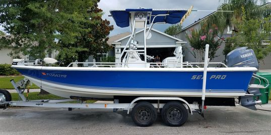 Pushing Limits Fishing Charters boat, Sea-Pro SV2100, Sea Pro Boats, Bay Boat, Port Canaveral