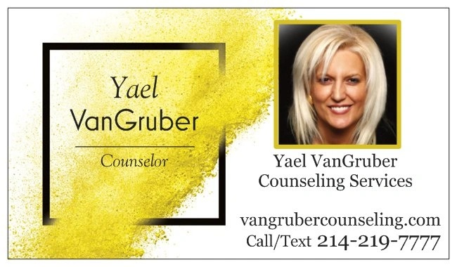 YAEL VANGRUBER  COUNSELING & MEDITATION SERVICES