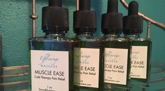 Muscle pain relief. All natural ingredients. Wintergreen Essential Oil, Menthol Crystals. Effective.