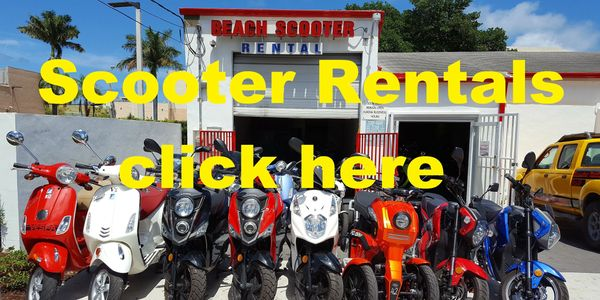 miami beach scooter rental, scooter rental miami beach, beach scooter rental, rent a scooter, rent