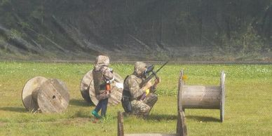 Why not have a Paintball party?
