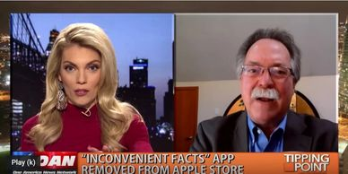 OAN News interviews Gregory Wrightstone concerning Apple apparent censorship of smartphone app.