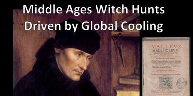 Middle Ages witch hunts were driven by global warming