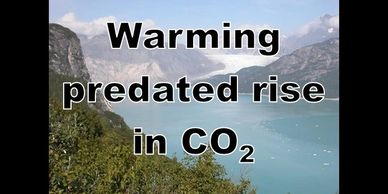 Global warming predated rise in carbon dioxide