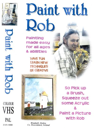 """Book /""""ROB/'S VEGGIE PATCH/"""" signed by Rob Steinke PRINTED IN IRELAND Author"""