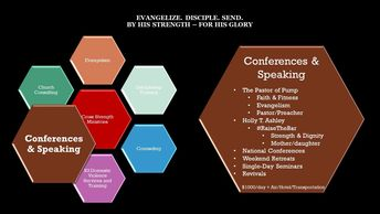 To schedule a conference, seminar, workshop, or speaker - contact Holly at Holly@Redemption3.com