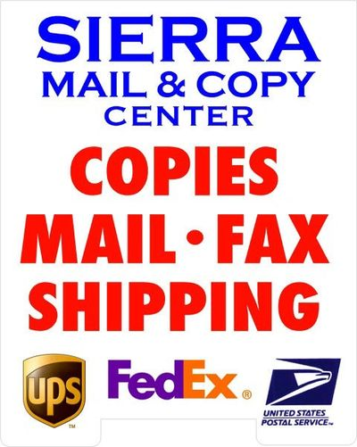 Mail FedEx UPS Shipping Copy Mail Boxes