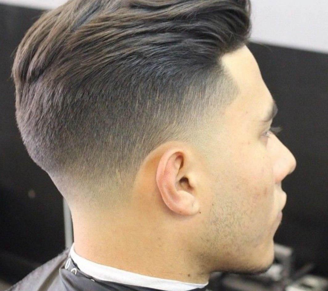 Men S Haircut How To Tell The Difference Between Taper And Fade