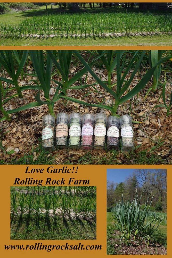Rolling Rock Farm Spices Sea Salts Specialty Food
