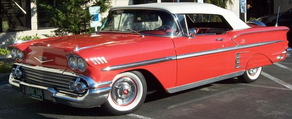 1957 Chevy Impala Convertible