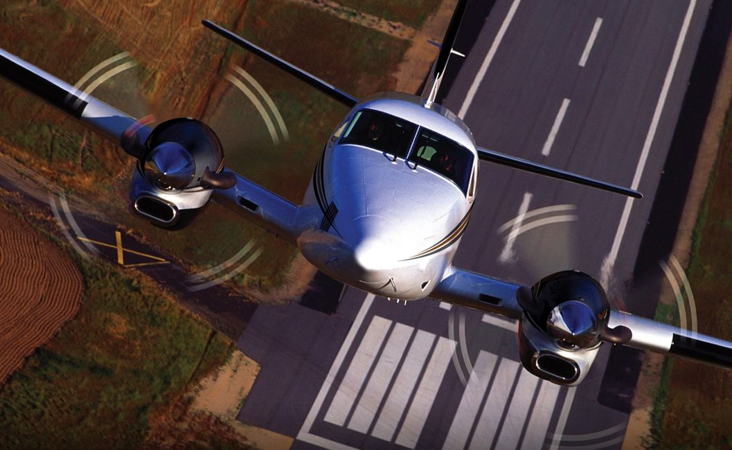 KingAir C90 Rocket Ship