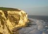 On a trip to the UK, a group of us took a day excursion to see the gorgeous White Cliffs of Dover around sunset