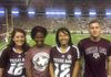Watching Aggie football with some fellow econ graduate students. Gig 'em!