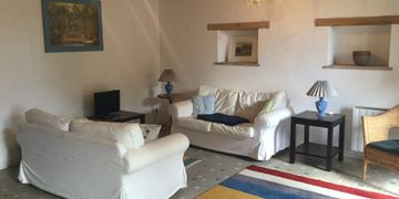 Comfortable, spacious lounge. Rural farmhouse for sale France.