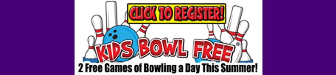 Link to Kids Bowl Free to sign up for the summer. Get the family pass for even more savings.