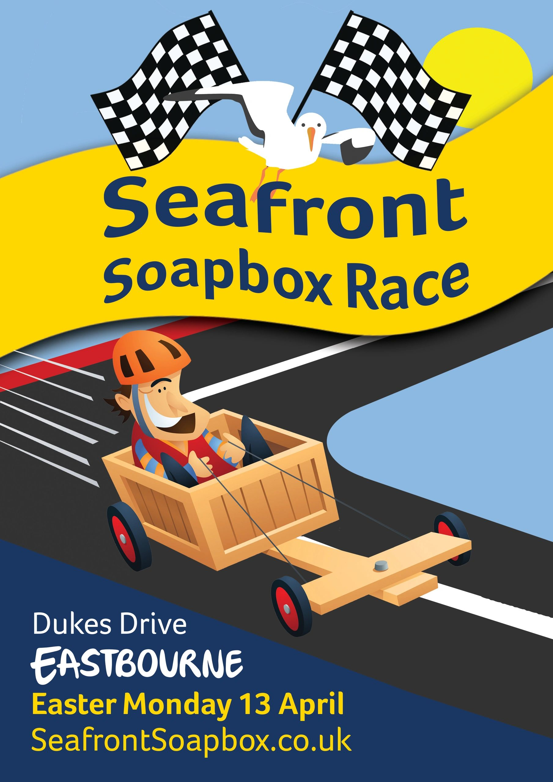 Eastbourne Seafront Soapbox Race April 2020