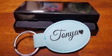 Custom Keychain Engraved- Personalized Gift for Him or Her Customized Engraving, Personalized Keychain