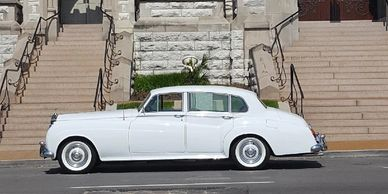 This Silver Cloud is also in high demand for weddings.  Call early to reserve one for